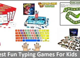fun typing games for kids