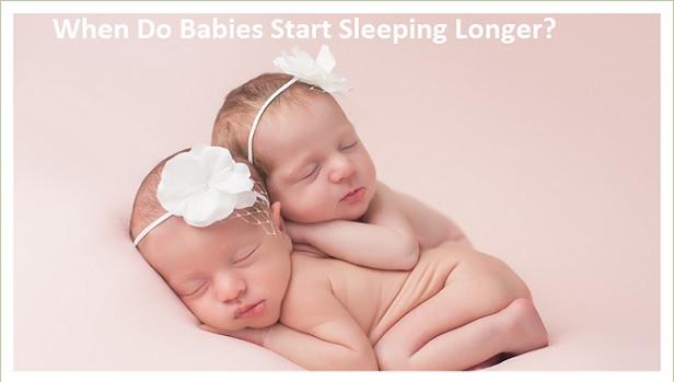 When Do Babies Start Sleeping Longer