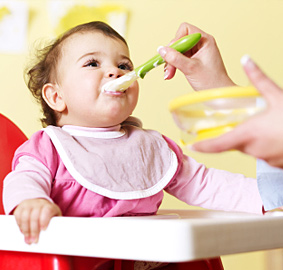 When to Feed Baby Food